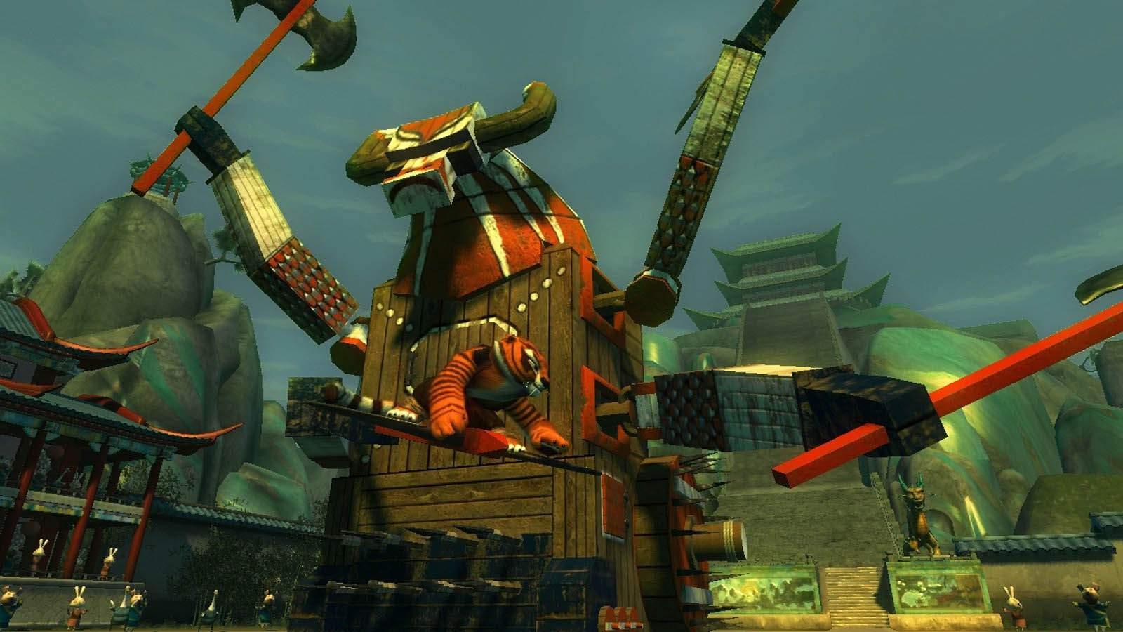 تحميل لعبة Kung Fu Panda مضغوطة برابط واحد مباشر كاملة مجانا
