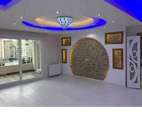 45 Modern False Ceiling Designs For Living Room