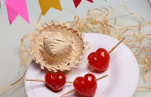 Receitinha para festa junina - tomatinhos do amor