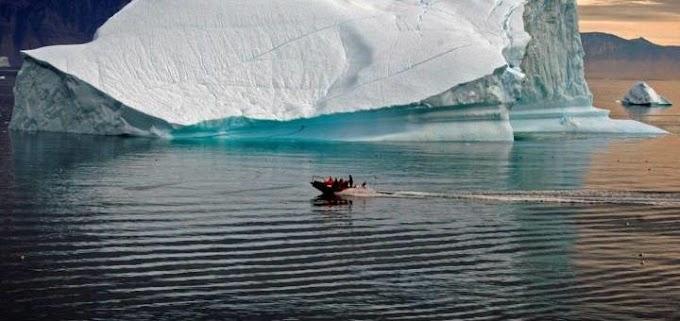 Страна-бензоколонка превращается в айсбергоколонку