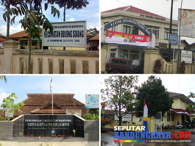 Alamat dan Nomor Telepon Kantor Kecamatan di Kabupaten Bandung