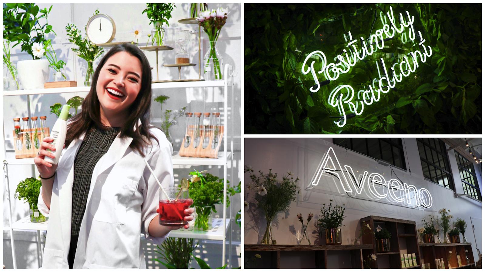 Aveeno Positively Radiant Skincare Drugstore Line