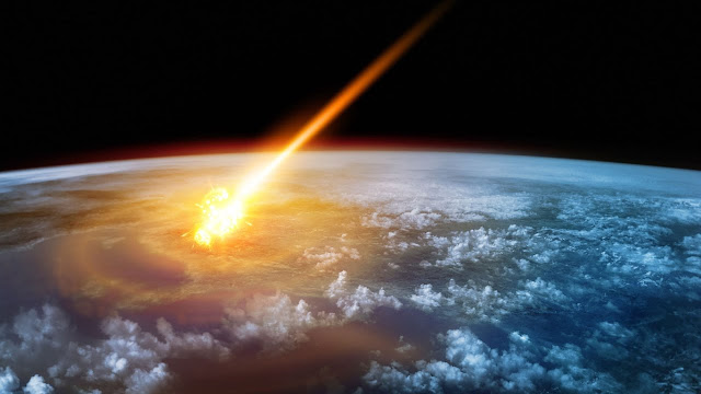 Earth is bombarded at random, crater study shows