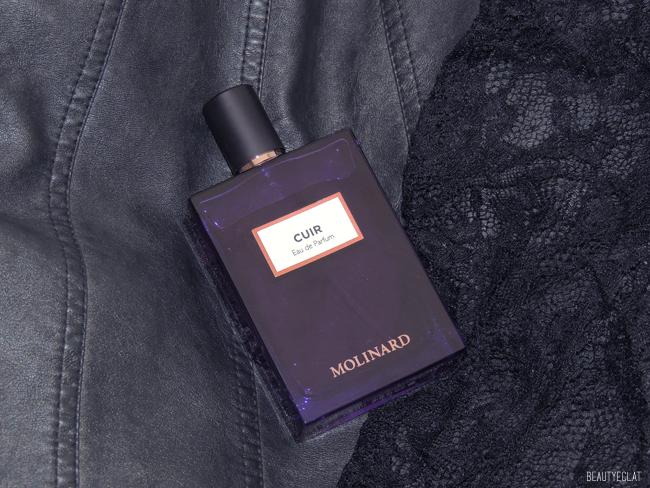 cuir parfum molinard revue avis test