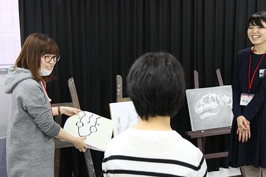 美術クラブ 横浜美術学院の中学生向け教室 ぜんぶ自分でつくる「自由制作」13