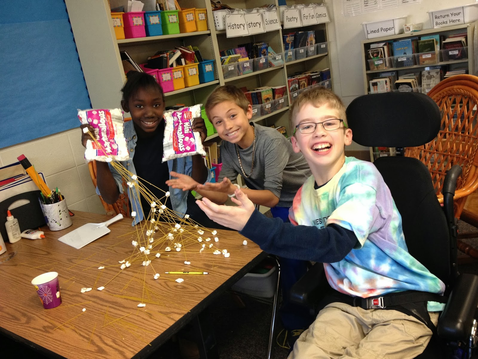 The Epic Spaghetti And Marshmallow Tower Challenge