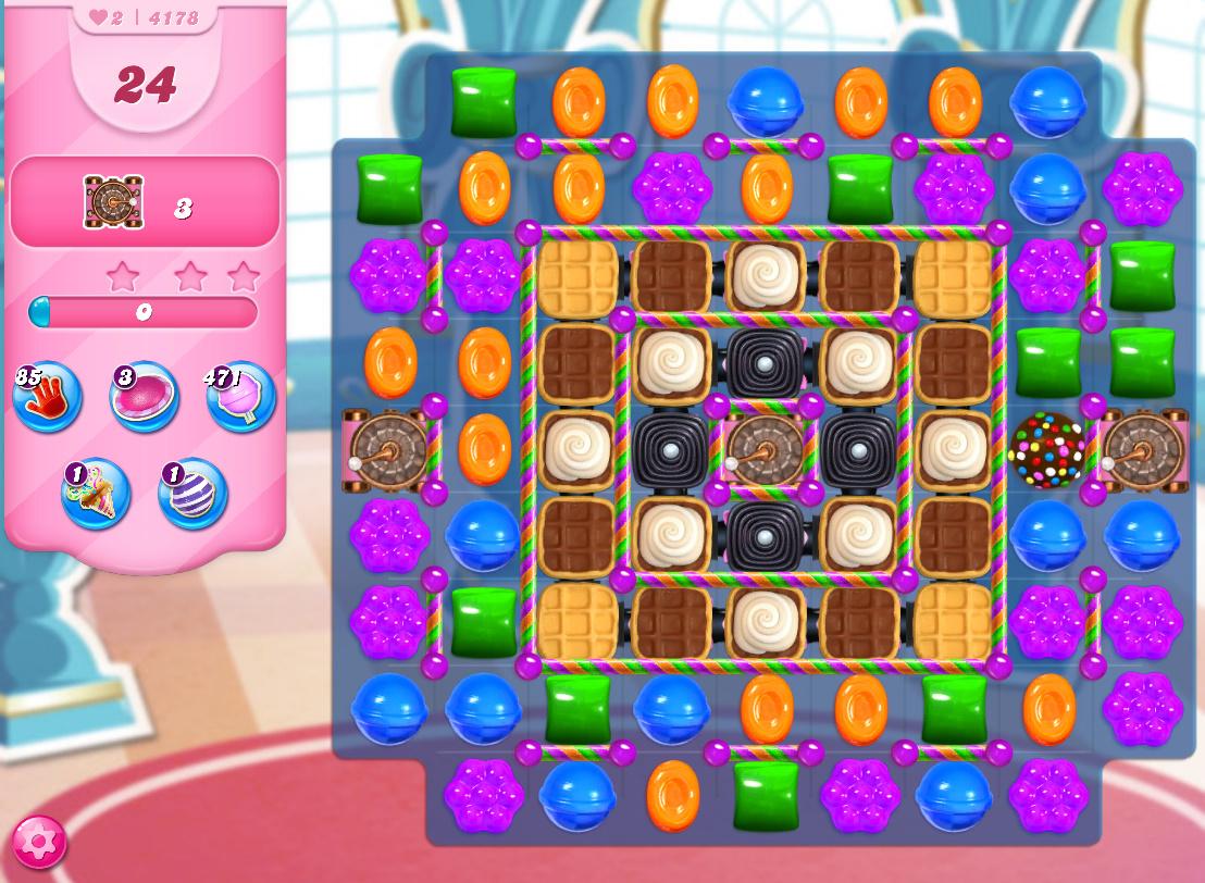 Candy Crush Saga level 4178