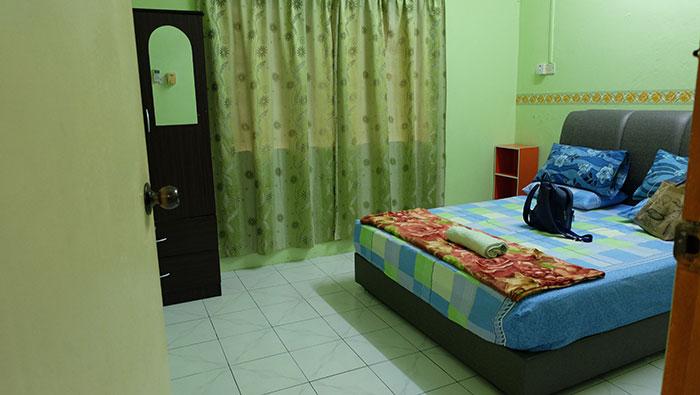 bilik utama homestay