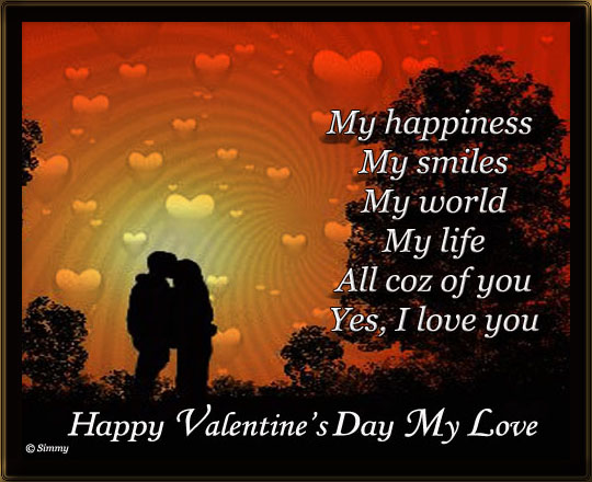 Happy Valentines Day My Love Poem | Valentine Jinni