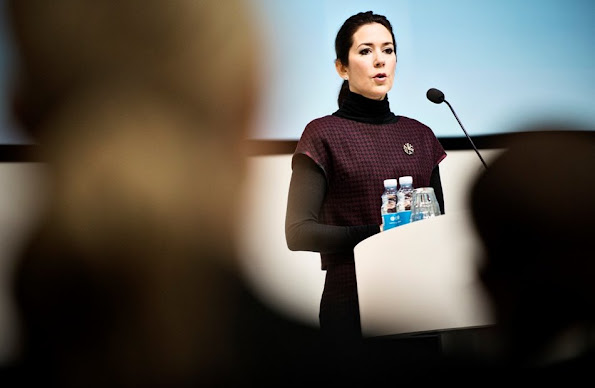 "Crown Princess Mary of Denmark opened ""UN 17 World Goals and Sustainable Development"" conference in Copenhagen"