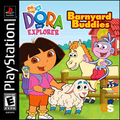 descargar dora the explorer barnyard buddies psx mega
