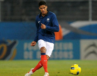Varane playing for France