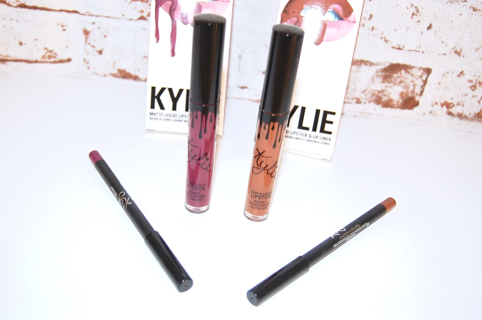 Pumpkin and Spice Kylie Cosmetics Lip Kits