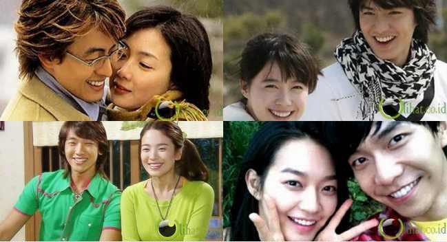 10 Pasangan Favorit Film Drama Korea yg Dikenang