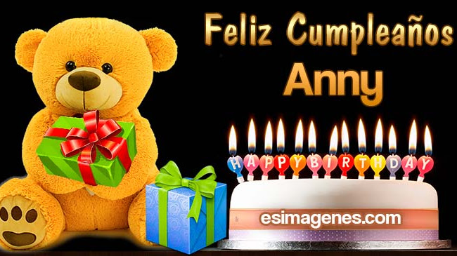 Feliz Cumpleaños Anny