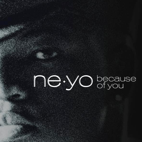 Ne-Yo - Because of You (Remix) [feat. Kanye West] - Single Cover