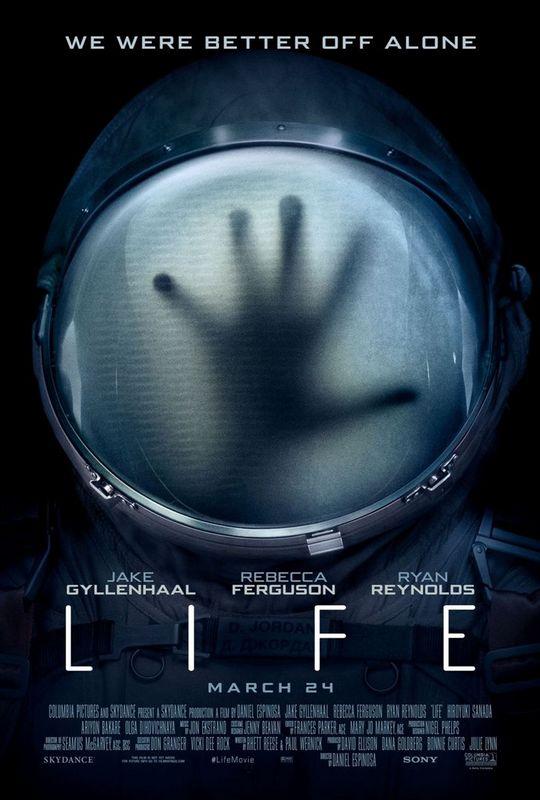 affiche du film Life Origine Inconnue