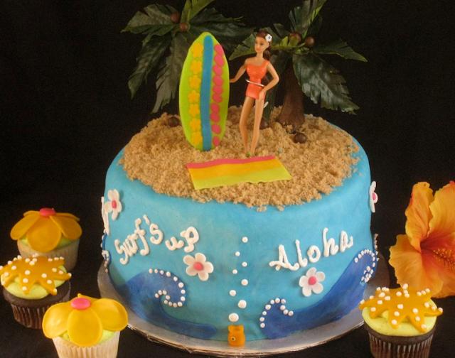 beach birthday cake designs for girls n7j