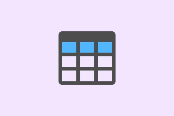 cara membuat tabel warna-warni di blog