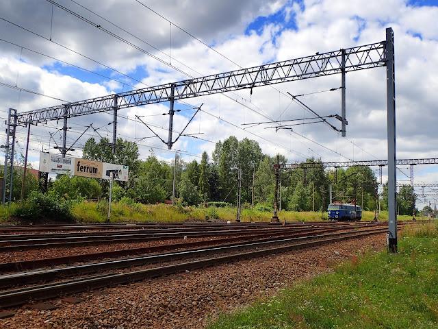 Gdzieś w okolicach stacji kolejowej na Zawodziu