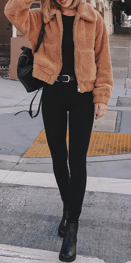27+ Simple Winter Outfits To Make Getting Dressed Easy. style inspiration winter winter fashions winter casual style winter fashion style winter work style #outfitinspiration #style #stylish #styleinspiration