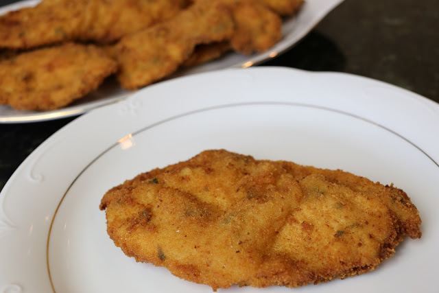 Escalopes de pollo
