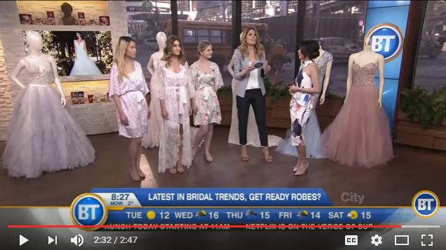 7cdb392ec7 2017 Wedding Trends Feature On Breakfast Television   With Rebecca Chan