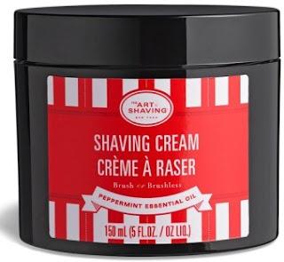 the art of shaving peppermint shaving cream