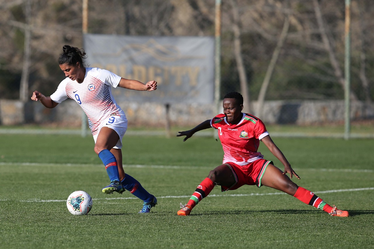 Kenia y Chile en Turkish Women's Cup, 7 de marzo de 2020