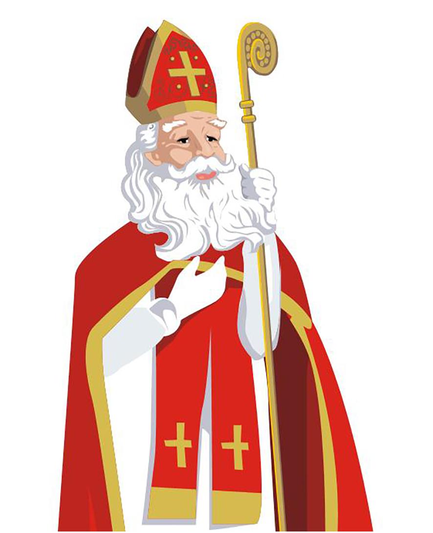 4b6a8a2551af Papai Noel? Sim, ou melhor, São Nicolau, em ilustrações alemãs tradicionais  (veja mais aqui). Aliás, o nome do Papai Noel em alemão é 'Kris Kringle'  (de ...