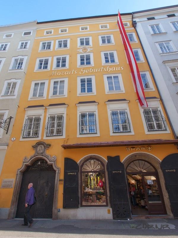 Casa natala a lui Mozart, Salzburg