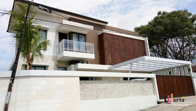 Desain Rumah Tinggal Modern Tropis