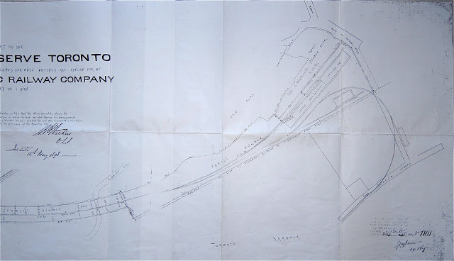 1898 Walker: [EAST] Plan of Part of the Military Reserve . . . applied for by Canadian Pacific Railway Company, 1