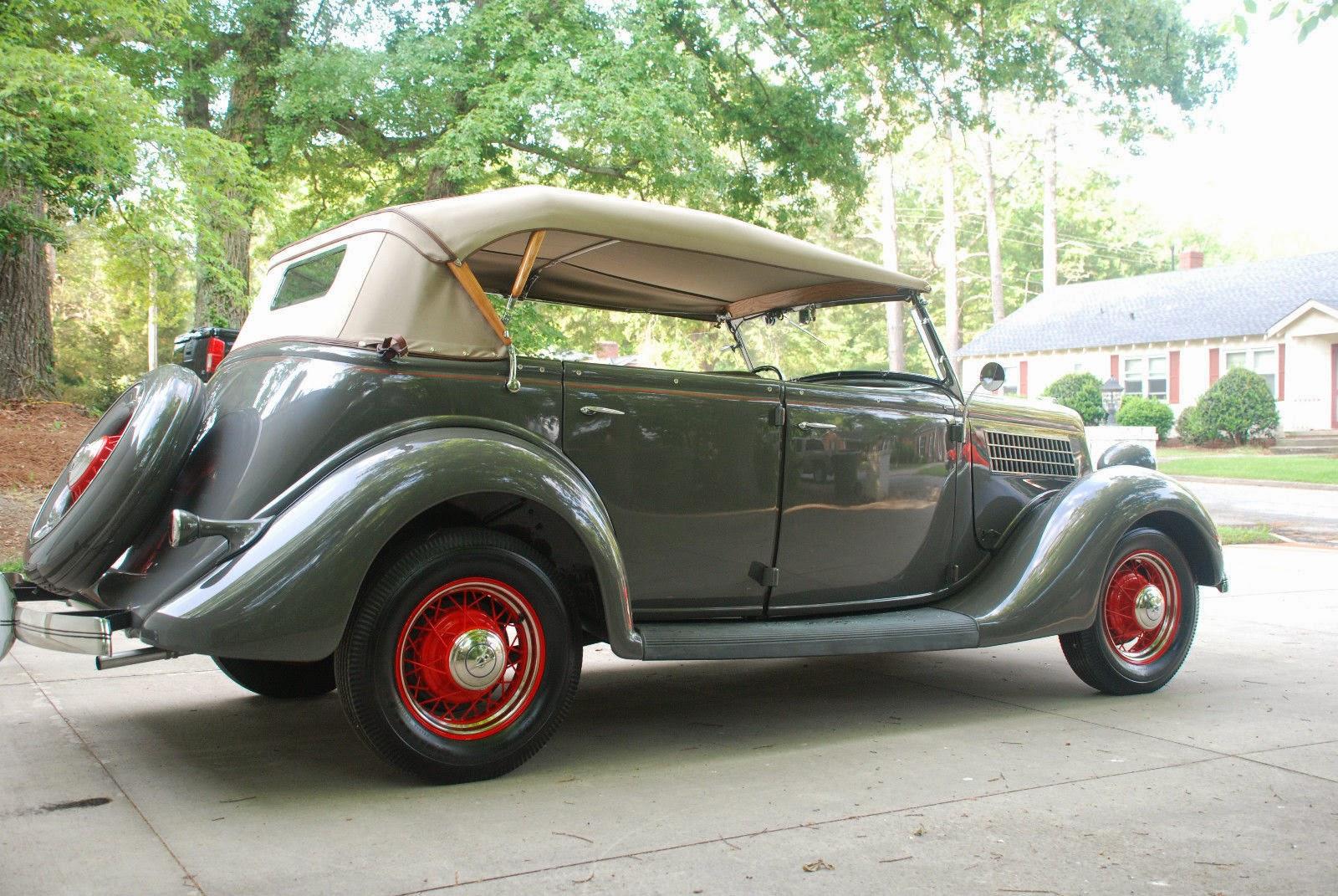 1935 Ford Phaeton Auto Restorationice