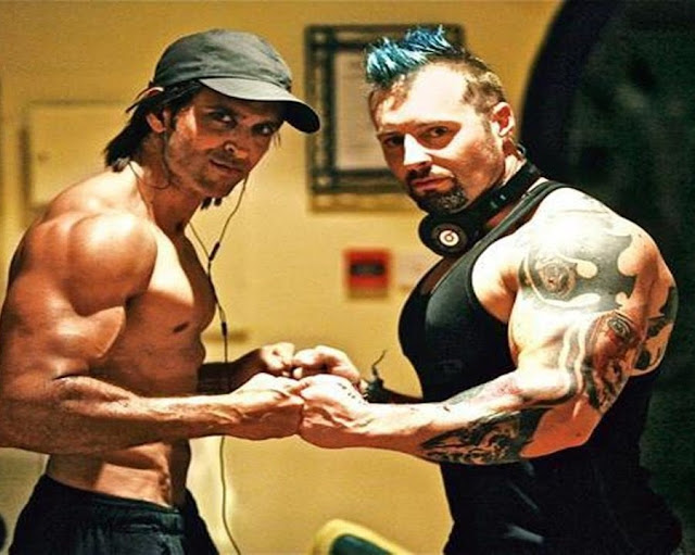 Hrithik Roshan Gym Trainer