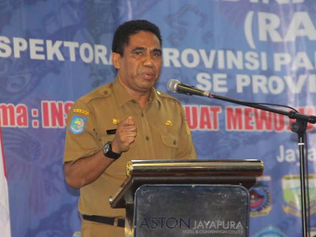 Hery Dosinaen Titipkan Empat Hal Kepada APIP Papua