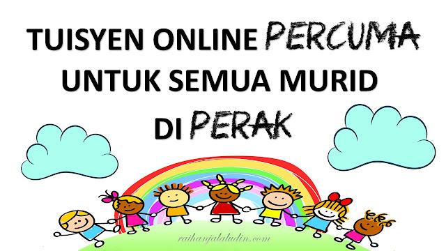 Tuisyen Online Percuma Untuk Semua Murid di Perak