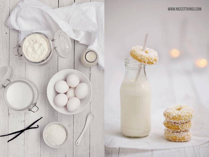 Rezept für Kokos Mini Donuts aus dem Donutmaker