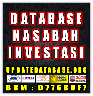 Jual Database Nasabah Prioritas Investasi Berjangka