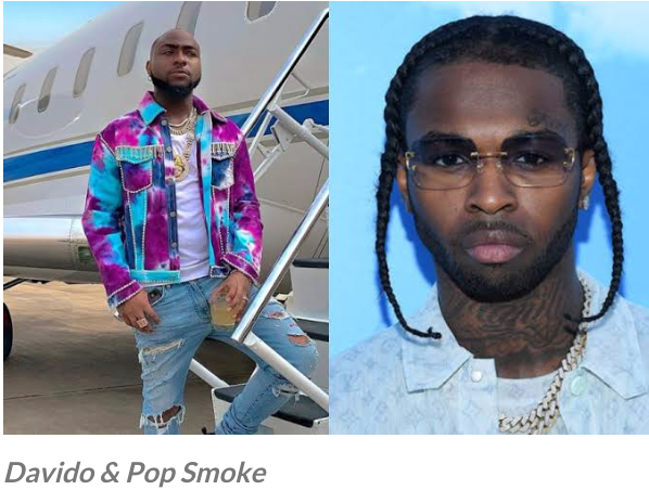 ENTERTAINMENTDavido Posted The Last Chat He had With Pop Smoke Before He Died Yesterday