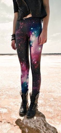 Beautiful-Galaxy-Print-Legging-