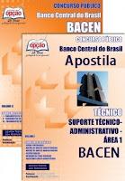 Apostila Concurso BACEN - Banco Central do Brasil - Técnico área 1.