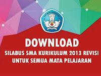 Download Silabus SMA, MA dan SMK Kurikulum 2013 Revisi Tahun 2016 Semua Mata Pelajaran