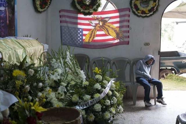 Velan en Guatemala los restos de migrante asesinada vilmente por policía estadounidense en Texas