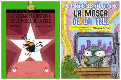 Libro infantil y juvenil divertido La verdadera historia de la mosca de la tele