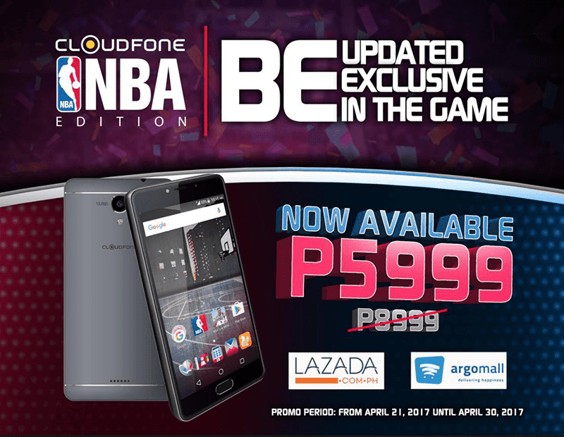 CloudFone NBA Edition Is Down To PHP 5999 In Online Stores