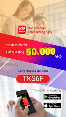 Đọc báo kiếm tiền với app VN ngày nay TKS6F