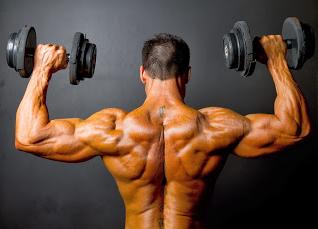 Latihan membentuk otot belakang tubuh