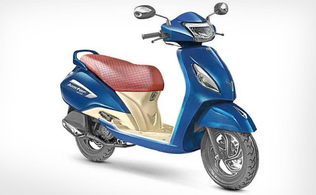 New 2018 TVS Jupiter Grande Edition Scooter