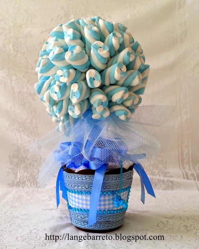 Topiaria de Marshmallow.